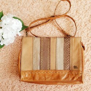 The Sak Iris Distressed Boho Multi Leather Stripe